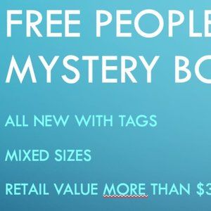 Free People Mystery Box // NWT